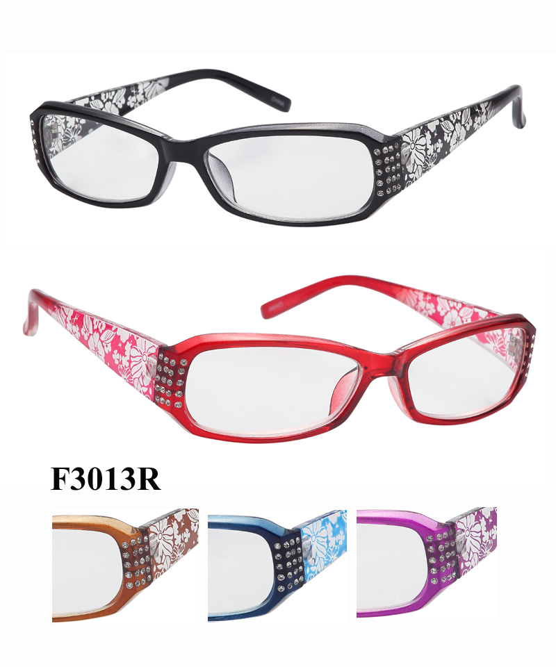Reading Eyeglass Frame Numbers : F3013R (1 dozen)