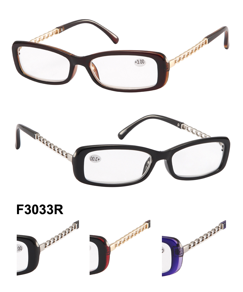 How To Read Eyeglass Frame Numbers : F3033R (1 dozen)